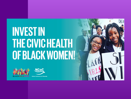 New Report Calls For Urgent Investment In Black Women's Civic Health
