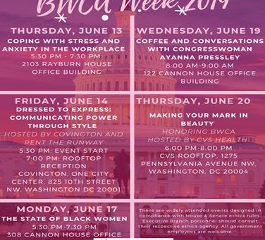 Black Women's Congressional Alliance Week 2019!