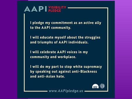 #AAPIHeritageMonth: Take The AAPI Visibility Pledge