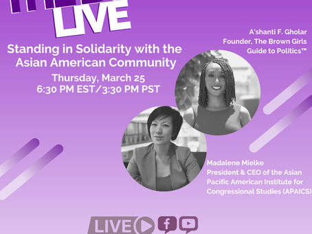 The BGG Live: Standing In Solidarity with the Asian American Community