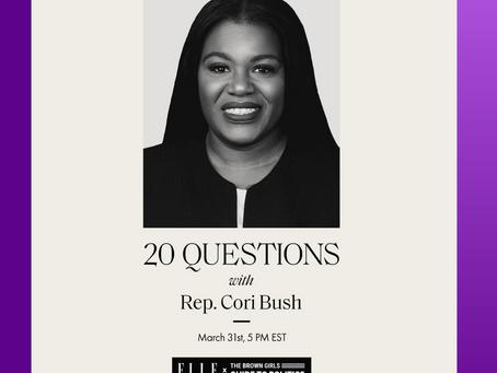 WHM 2021: ELLE X BGG with Congresswoman Cori Bush