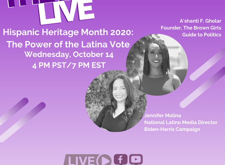 The BGG Live: Jennifer Molina, National Latino Media Director, of the Biden-Harris Campaign