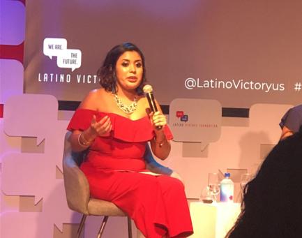 "Celebrating Iconic Latinas at Latino Victory's ""Latino Talks"" by Farah Melendez"