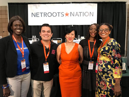 "Video: Netroots Nation 2018 Panel ""This Is What Democracy Should Look Like: 2018 & Beyond&q"