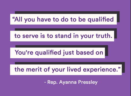 "The BGG Podcast Episode 8 with Rep. Ayanna Pressley: ""You can't poll transformation."""