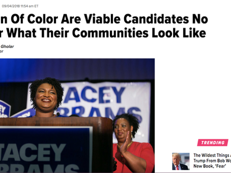 The BGG Founder A'shanti Gholar's Huffington Post Opinion Piece: Women Of Color Are Viable C