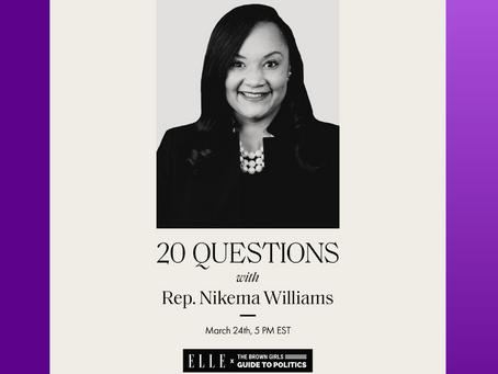 WHM 2021: ELLE X BGG with Congresswoman Nikema Williams