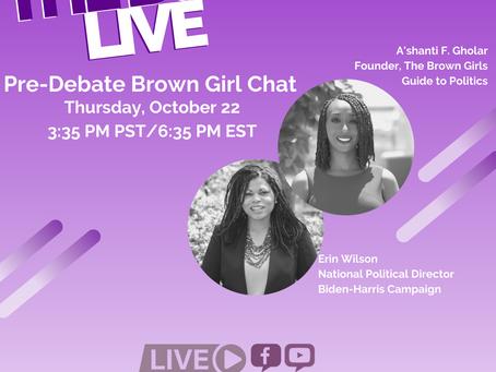 The BGG Live: Erin Wilson, National Political Director, of the Biden-Harris Campaign