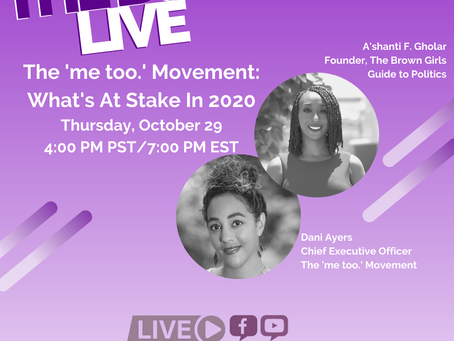 The BGG Live: Dani Ayers, CEO of The 'me too.' Movement