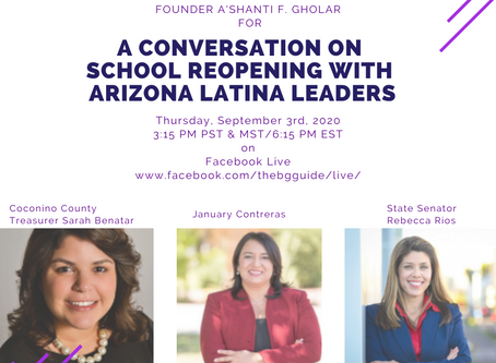 A Conversation On Schools Reopening with Arizona Latina Leaders