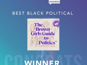 Winner! 2021 Best Black Political Podcast