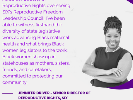 Fighting Better and Fighting Differently for Black Maternal Health Week By Jennifer Driver of SiX