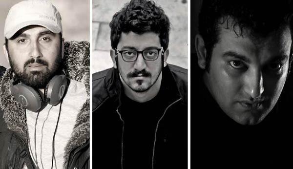 Mehdi Rajabian, Hossein Rajabian og Yousef Emadi.