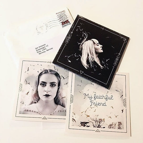 Eivor Slor Eivør Slør album CD Eivør Palsdottir The La