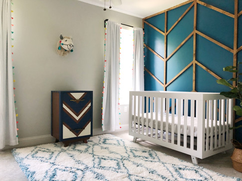 Nursery & Accent Wall DIY Project