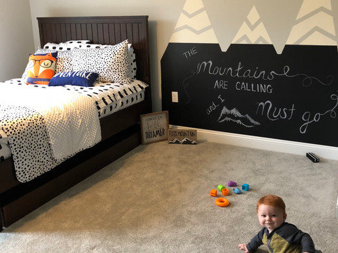 Playroom Mountain Makeover with Beddy's