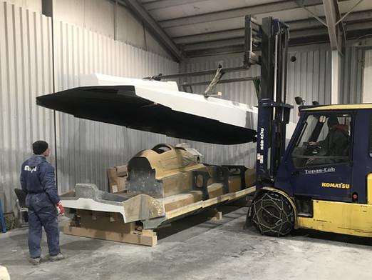 Tilbakeblikk på båtbygging av nye C-29