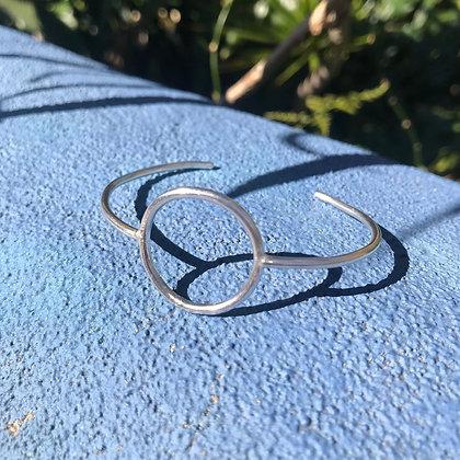 Neptune - Sterling Silver Cuff Bracelet