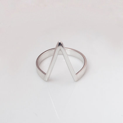8pm jewellery kheops sterling silver pyramid ring