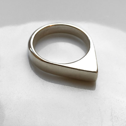 8pm jewellery mektoub pyramidal sterling ring