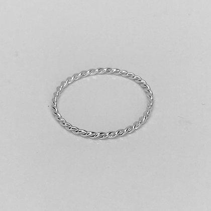St Tropez - Sterling Silver Twist Ring
