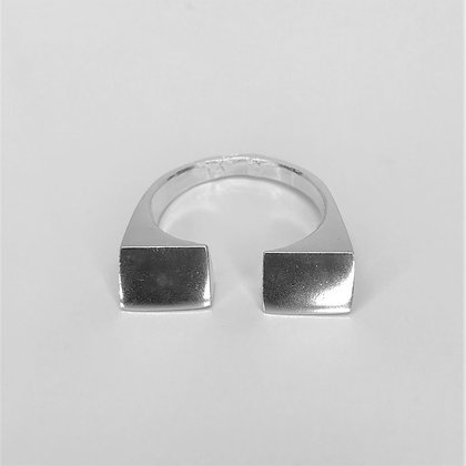 Keizer - Sterling Silver Open Ring