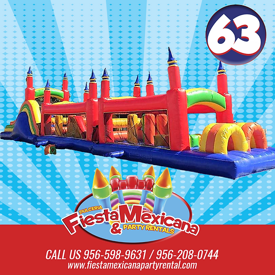 LONG OBSTACLE COURSE 63. $285