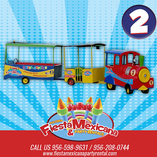 #2  Fiesta Express. $375  for 3 hrs  |   additional hour $75