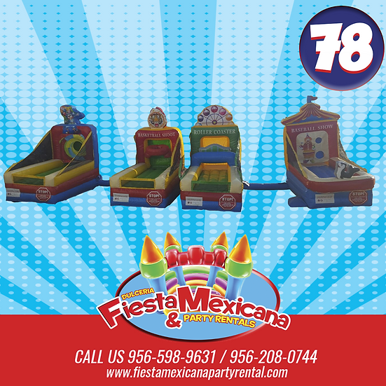 4 in 1 carnival game 78. $150