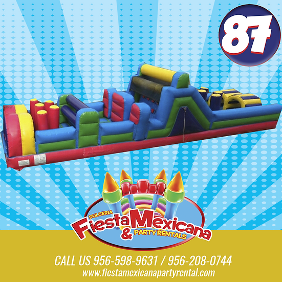 obstacle course 87. $195
