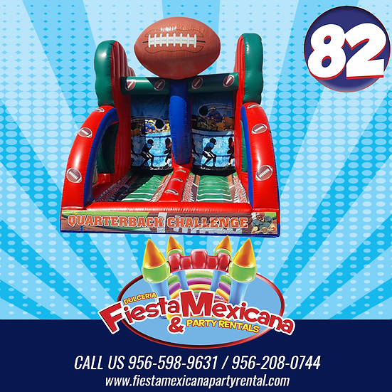 #82 Test your football  $140