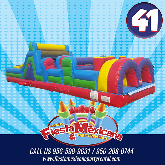 OBSTACLE COURSE41. $195