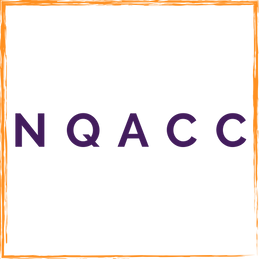 Orange and Purple North Queen Anne Child Care Logo