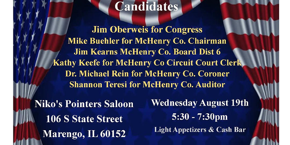 Marengo Meet and Greet the Candidates