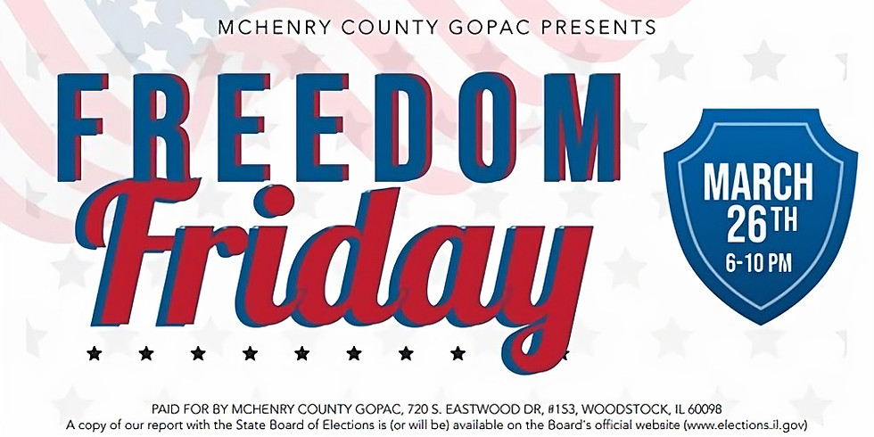 Ticket Sales for Freedom Friday