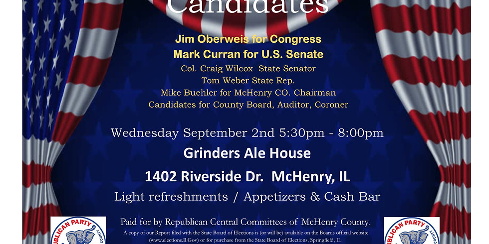 McHenry Meet and Greet the Candidates