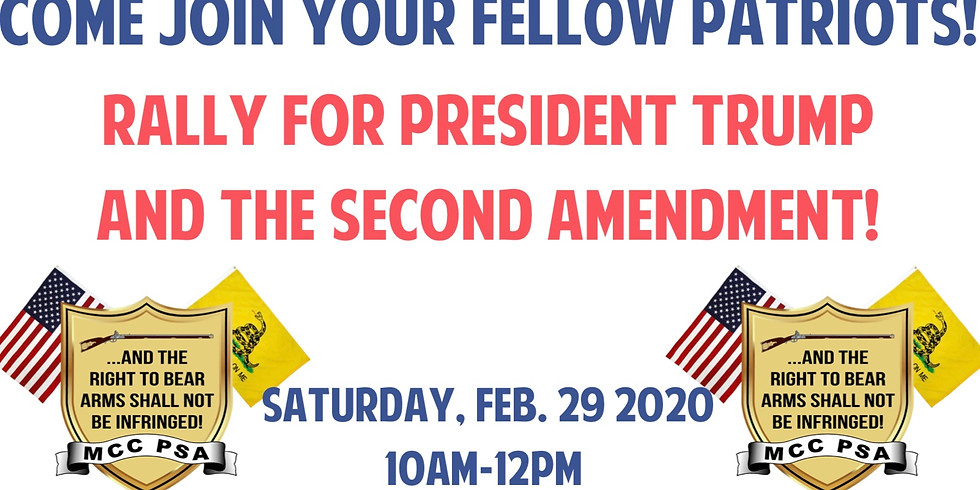 Rally For President Trump and the Second Amendment