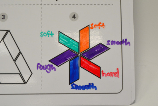 Colour and shapes board
