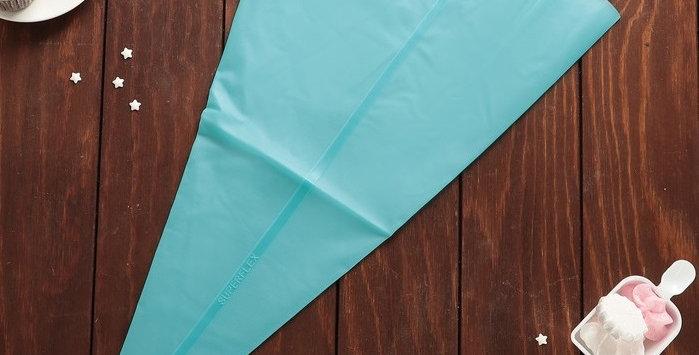 Мешок кондитерский силиконовый голубой 60х32 см