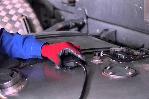 Установка ГЛОНАСС с датчиком уровня топлива
