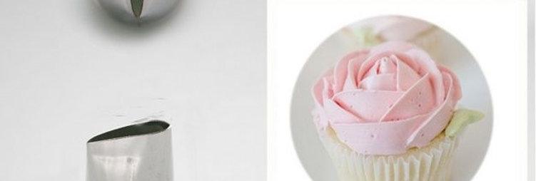 Насадка для крема роза малая