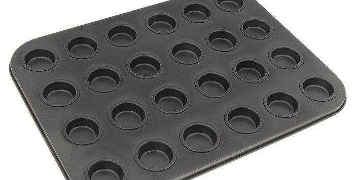"""Форма для выпечки кексов Круги"""", 24 ячейки"""