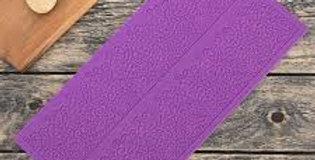 """Коврик для айсинга """"Природная красота"""", 2 полосы, цвет фиолетовый"""