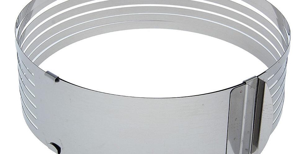 Форма трансформер для выпечки с прорезями с регулировкой размера