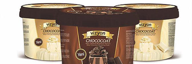 Шоколадная мастика Визьен Темная
