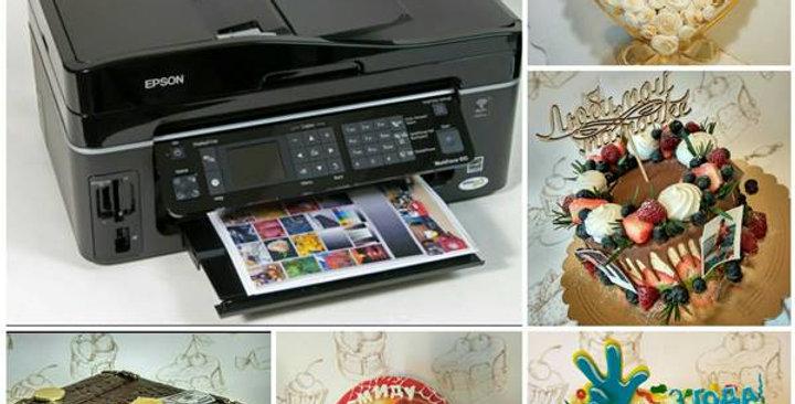 Печать на сахарной бумаге (по вашему эскизу) 1 лист