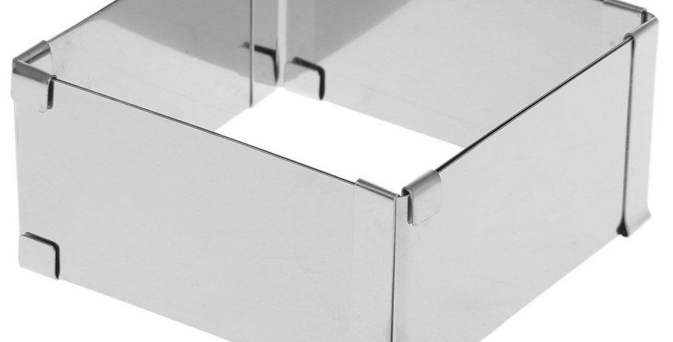 Форма квадрат для выпечки с регулировкой размера трансформер
