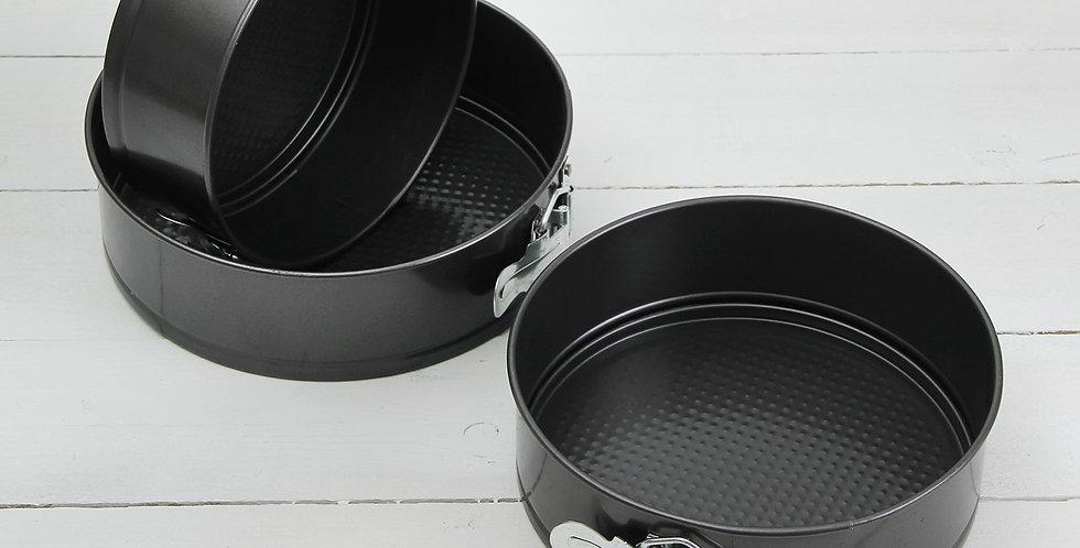 """Набор форм для выпечки разъемные Круги"""" антипригарное покрытие 3 шт"""