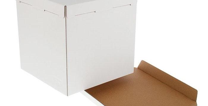 Коробка для торта белый эконом в ассортименте