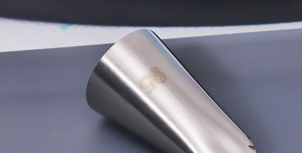 Насадка модели лист отделка с зубчиками №95